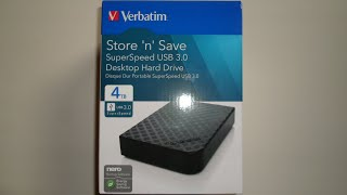 Verbatim Store 'n' Save 4TB HDD Review