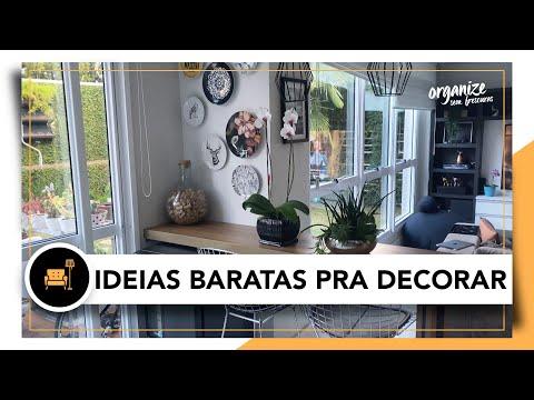 IDEIAS BARATAS DE DECORAÇÃO DA MINHA CASA | OSF- Rafa Oliveira