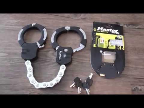 Fahrrad/Motorradschloss  (Master Lock )