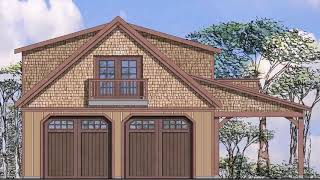 2 Car Garage With Loft Apartment Plans - Gif Maker  DaddyGif.com (see Description)