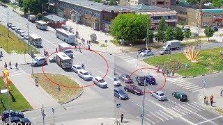 ДТП в Серпухове. Две аварии на одном перекрёстке... 15 июня 2018
