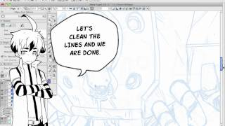 How to Draw Manga with Sen and Kai - Draw Robots / Mecha