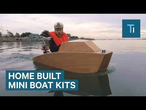 Build Your Own Mini Boat with This Cool Kit
