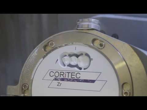 CORiTEC 350i (loader) zirkoon frezen