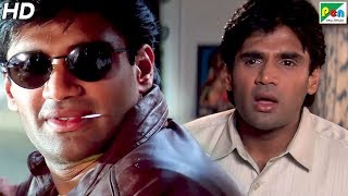 Suniel Shetty Finds Out Truth Behind His Duplicate | Gopi Kishan | Suniel Shetty, Karishma Kapoor