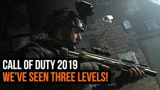 Call of Duty 2019 - We've seen three levels! Piccadilly Circus, Town House and Ursekstan