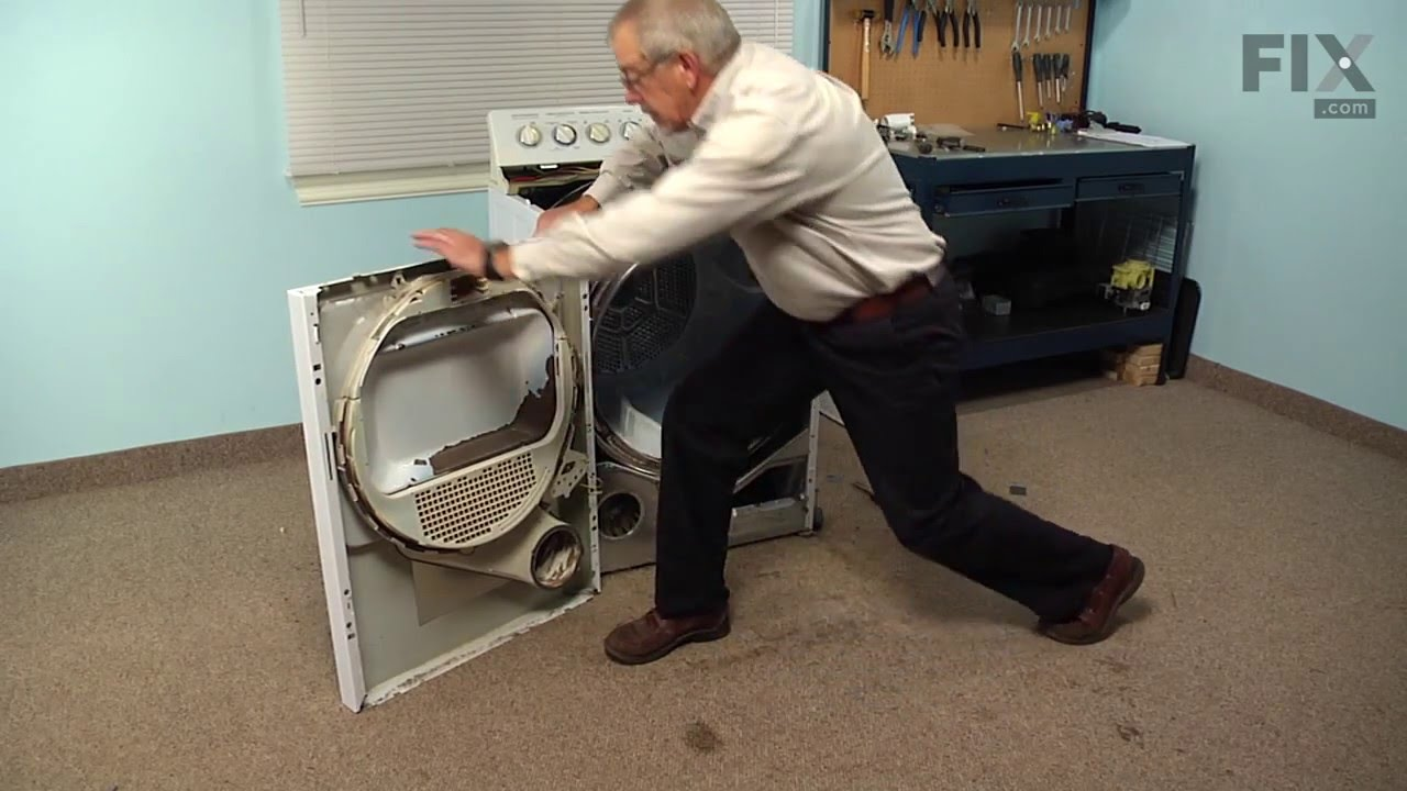 Replacing your General Electric Dryer Cycling Thermostat - 4 Wire