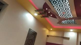 Acrylic CNC Cutting Jali False Ceiling Design
