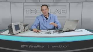 IDT Versamixer RF IF Mixer Demonstration