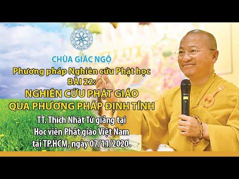 Nghiên cứu Phật giáo qua phương pháp định tính (phần 2) - Phương pháp nghiên cứu Phật học