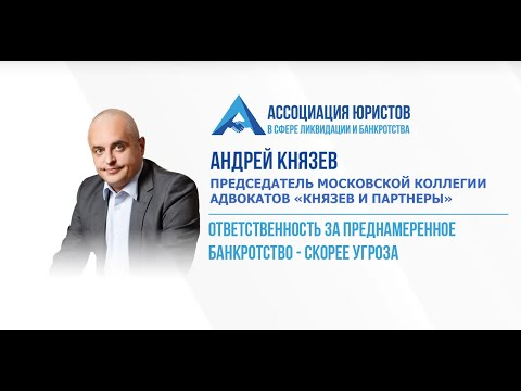 """Андрей Князев: """"Ответственность за преднамеренное банкротство — скорее угроза"""""""