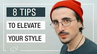 8 Fashion Tips To Elevate Your Style | Mens Fashion