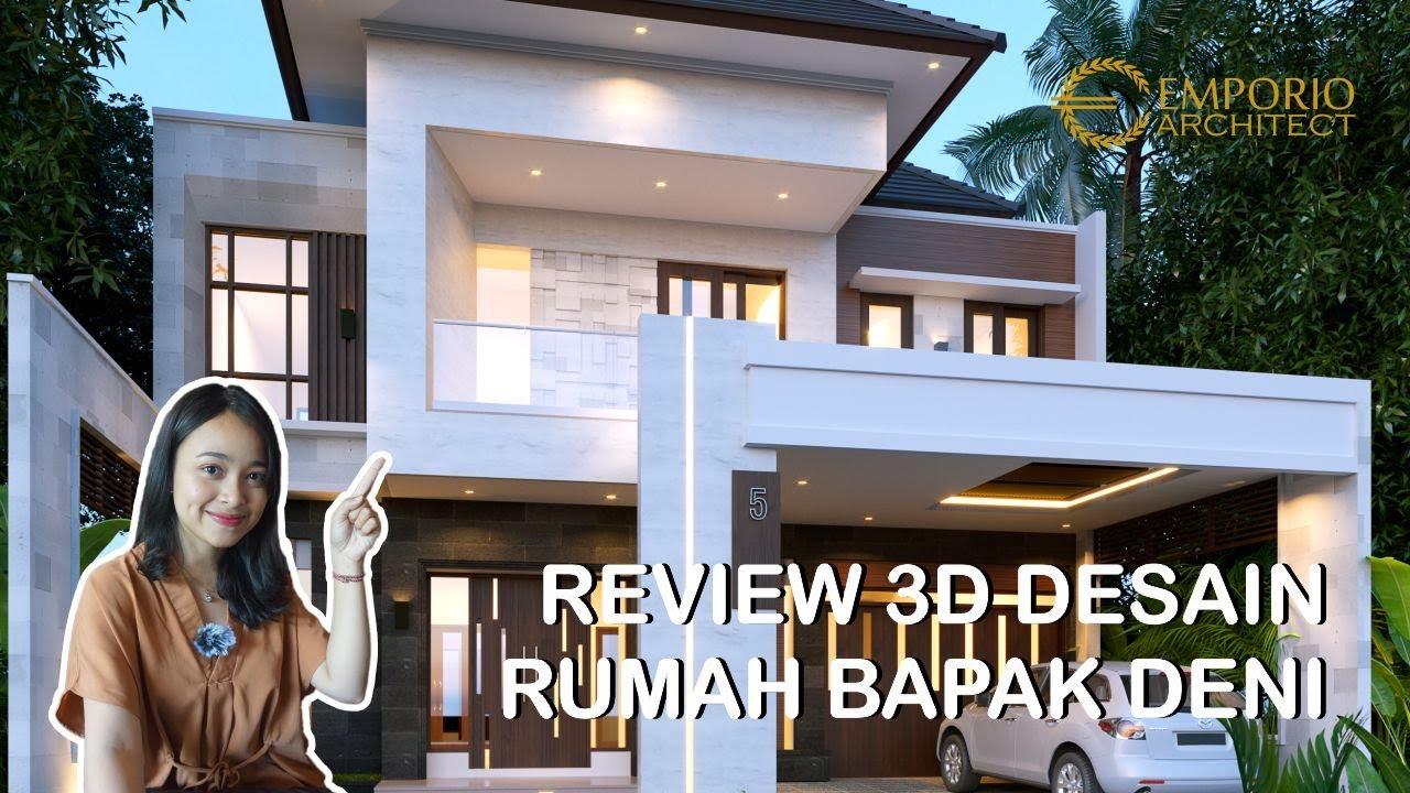 Video 3D Mr. Deni Modern House 2 Floors Design - Karawang, Jawa Barat