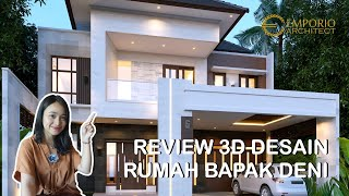 Video Mr. Deni Modern House 2 Floors Design - Karawang, Jawa Barat