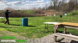 Action Pistol Match at Sandoval Range, Illinois - Shooter 14