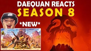 DAEQUAN SEASON 8 REACTION | BATTLE PASS | FIRST GAME WIN