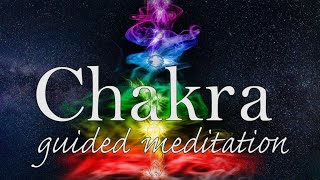 Opening & Balancing Your 7 Key Chakras ❤️🧡💛💚💙💜💗 Guided Meditation