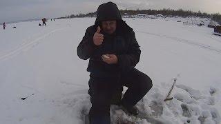 Зимняя рыбалка на чусовой