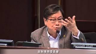 主席:未有黃毓民議員發言之前,大家都一片掌聲。
