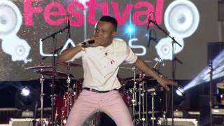 HUMBLESMITH'S LIVE PERFORMANCE AT FIVE STAR MUSIC FESTIVAL IN FESTAC TOWN - LAGOS