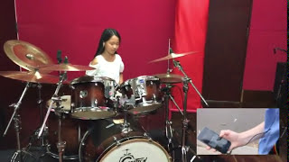 Uptown Funk - Ky Baldwin & phil j drum cover by  kanon