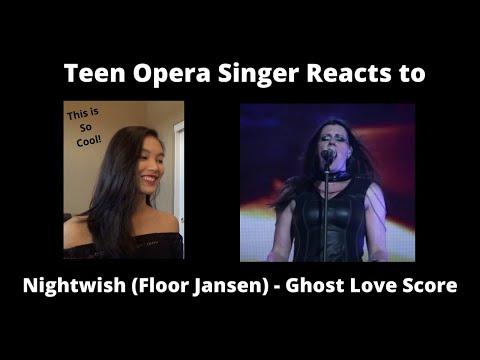Teen Opera Singer Reacts To Nightwish (Floor Jansen) - Ghost Love Score