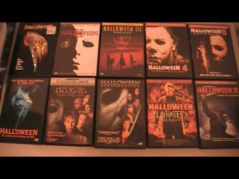 My Halloween Franchise Movie Collection