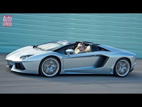 Lamborghini Aventador Roadster - Auto Express