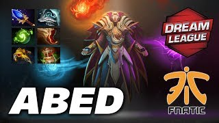 Abed Invoker GREAT SE Asia PLAYER   Fnatic vs VG   DreamLeague Dota 2