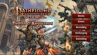 Pathfinder Adventures - Basic Terms and Keywords
