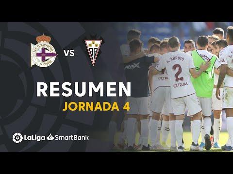 Resumen de RC Deportivo vs Albacete BP (0-1)