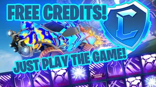 How To Get FREE CREDITS In Rocket League Just By Playing The Game! (Free To Play Update)