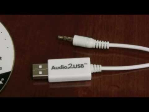 3.5mm Audio To USB Cable Adapter