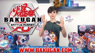 HappyKids Play [E119 - BAKUGAN UNBOXING]