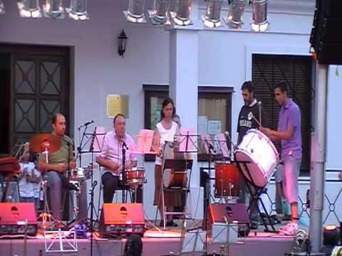 Alumnos de Viento y Percusión - La entrada