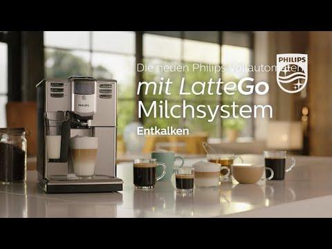 Philips Vollautomaten mit LatteGo   Entkalken (2018)