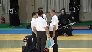 2019 단별검도대회 남자 2단부 16강 - 하태용 vs 박찬우 [검도V] kendov