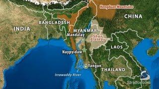 Myanmar - Geography