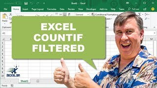 MrExcel's Learn Excel #946 - Countif Filtered