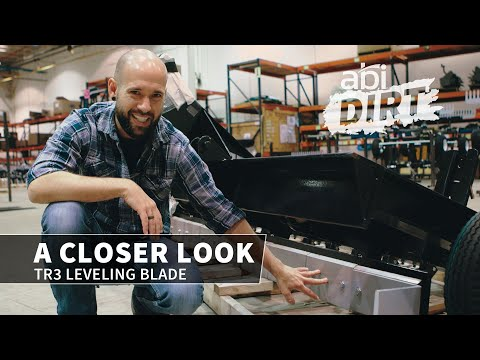 TR3 Leveling Blade – A CLOSER LOOK (ABI DIRT)