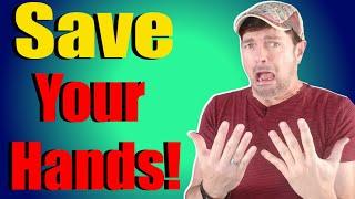 Heal Dry Peeling Skin On Hands | Works FAST! | Chris Gibson