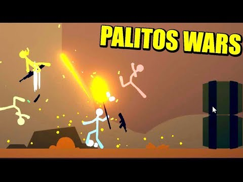 4 PALITOS Y UN DESTINO - STICK FIGHT | Gameplay Español