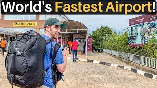 World's FASTEST AIRPORT Experience (60 Seconds!)