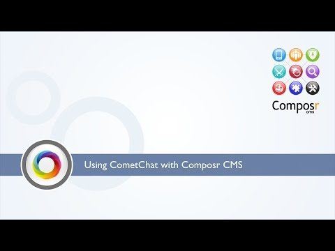 How to install CometChat in your Composr CMS site