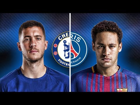 Neymar Jr Vs Eden Hazard - Crazy Skills & Goals | HD