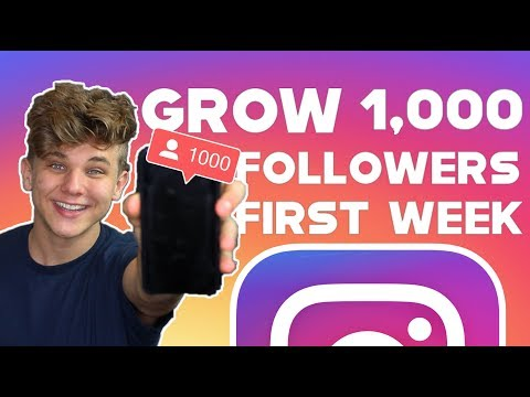 , title : 'HOW TO GAIN 1,000 ACTIVE FOLLOWERS ON INSTAGRAM IN 1 WEEK 2019 GROWTH HACKS