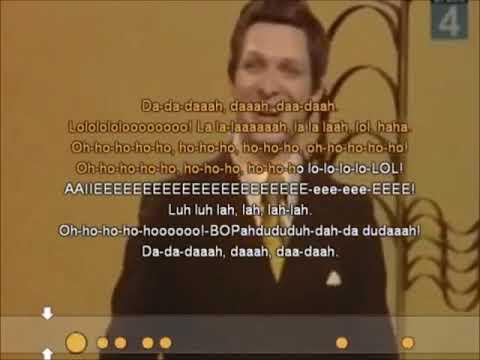 Eduard Khil - Trololo Song (Karaoke)