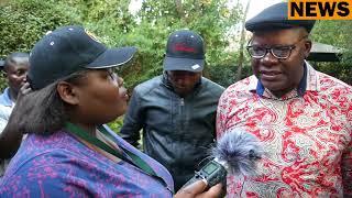 Tendai Biti briefs the media on Zim violence