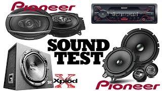 Sound Test - Pioneer TS-A1600C | TS-A6970F | Sony XS-NW1202E | Sony DSX-A410BT