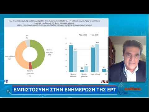 Διευθύνων Σύμβουλος της MARC για ΕΡΤ: Τεράστια βελτίωση μέσα σε μικρό χρονικό διάστημα